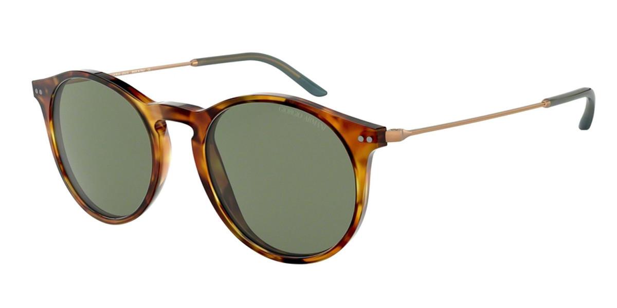 Giorgio Armani AR8121F Asian Fit 5760/2 Men's Sunglasses Tortoise Size 51