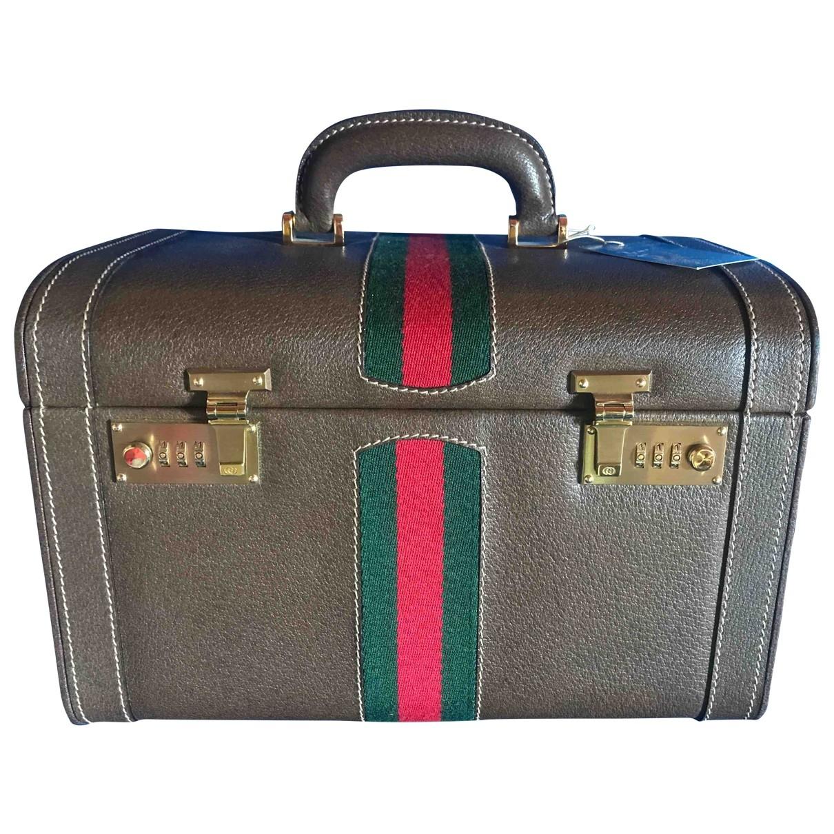 Gucci - Sac de voyage   pour femme en toile - multicolore