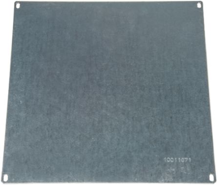 Rose Mounting Plate 280 x 280 x 111mm for use with Aluform Aluminium Enclosures