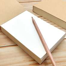 1 Pack Notizblock mit Kraftpapier