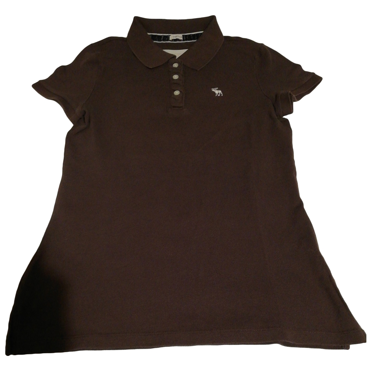 Abercrombie & Fitch \N Brown Cotton  top for Women L International