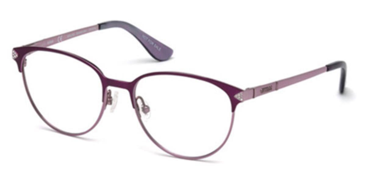Guess GU 2633-S 082 Women's Glasses Violet Size 52 - Free Lenses - HSA/FSA Insurance - Blue Light Block Available