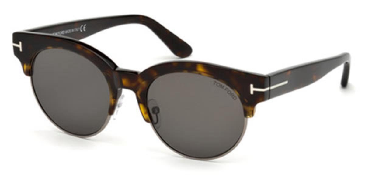 Tom Ford FT0598 Polarized 52D Men's Sunglasses Tortoise Size 50