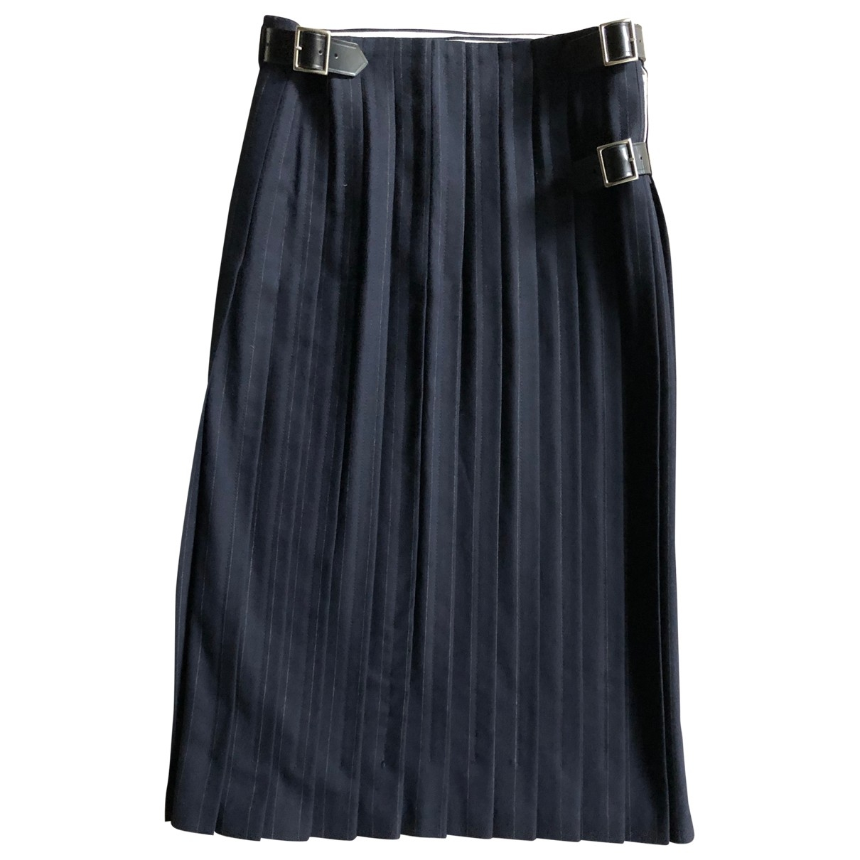 Comme Des Garcons \N Navy Wool Trousers for Men S International