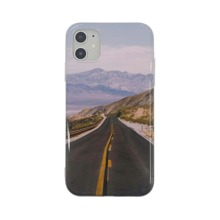 1pc Highway Scenery Pattern iPhone Case
