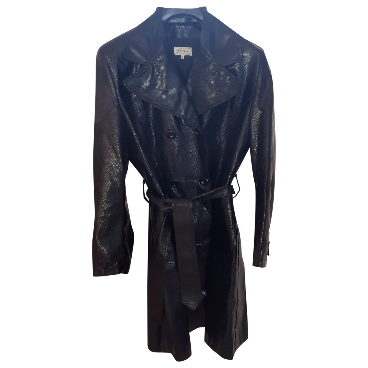 Non Signé / Unsigned \N Black coat for Women One Size FR