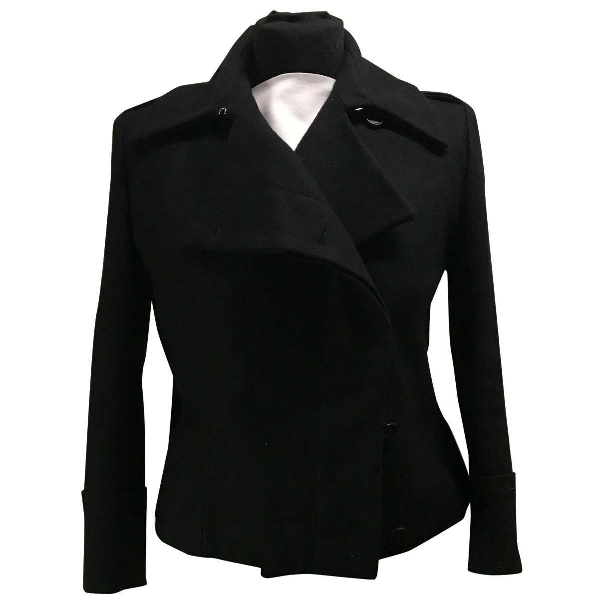 Alexander Mcqueen \N Black Wool coat for Women S International