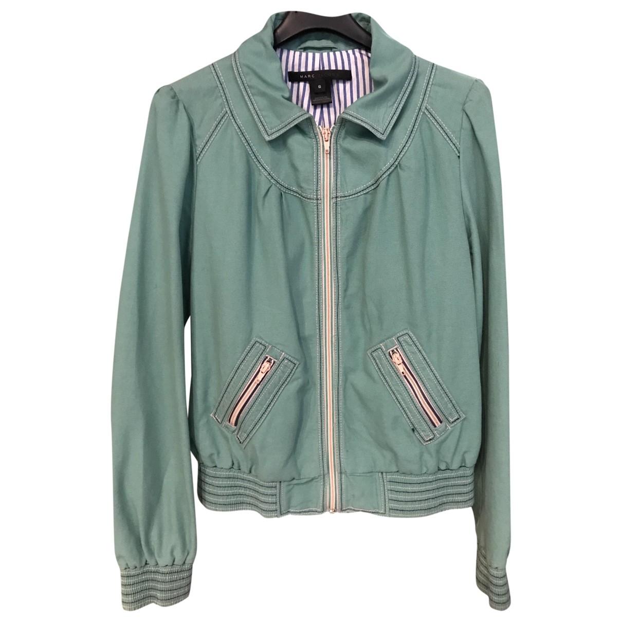 Marc Jacobs - Veste   pour femme en coton - vert