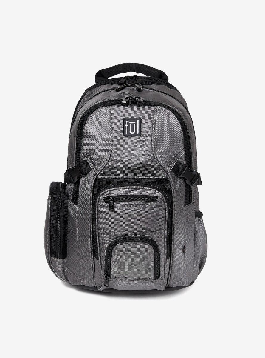 FUL Tennman Black & Grey Laptop Backpack