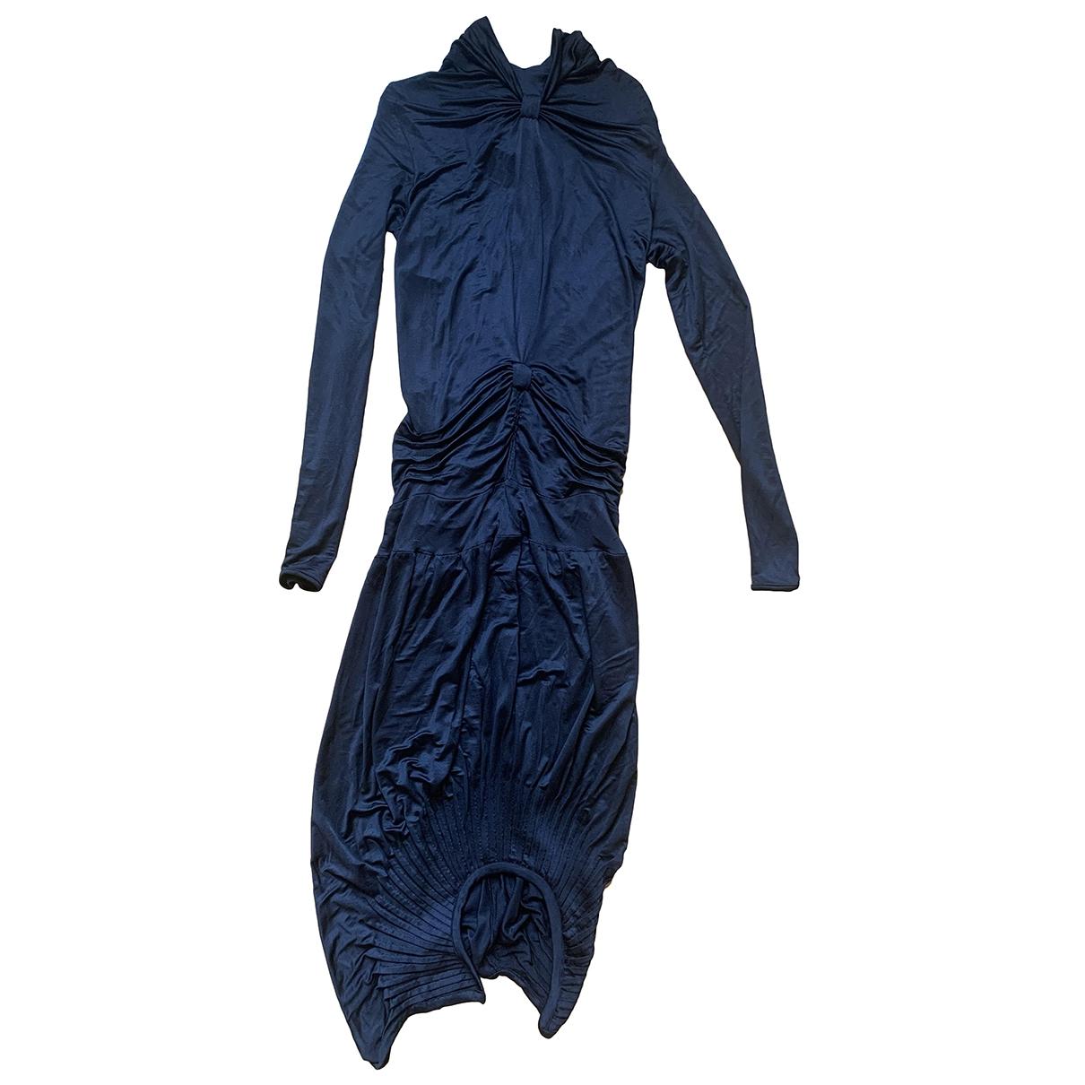 Sophia Kokosalaki \N Kleid in  Schwarz Viskose