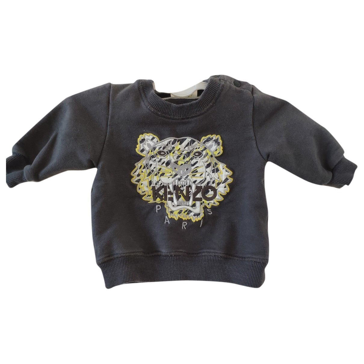 Kenzo \N Grey Cotton Knitwear for Kids 6 months - up to 67cm FR