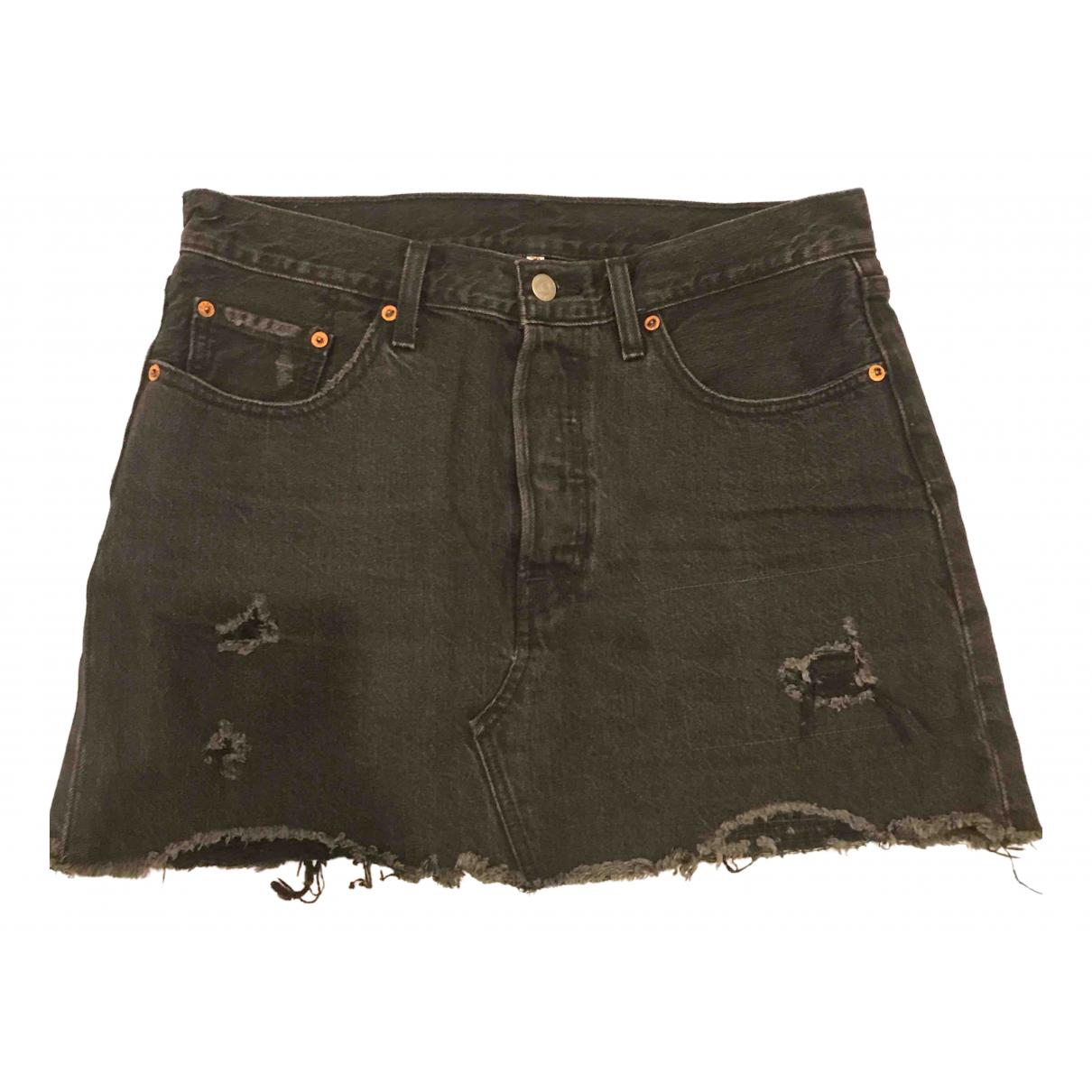 Levis \N Rocke in  Grau Denim - Jeans