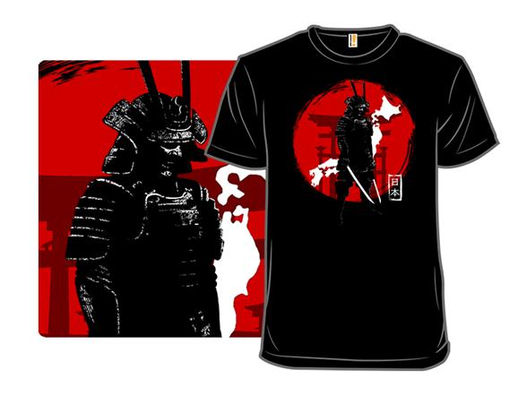 Ancient Samurai T Shirt