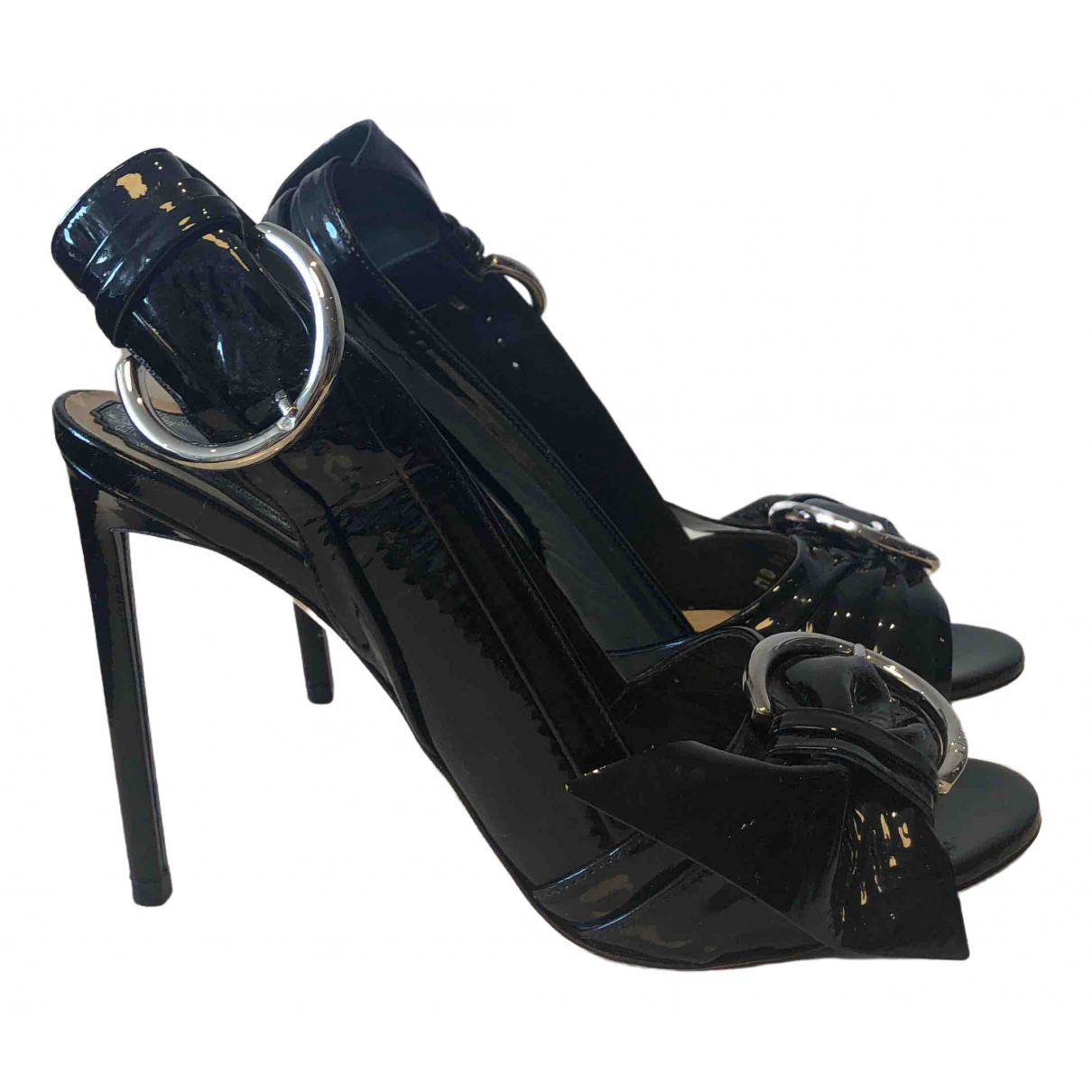 Dior \N Pumps in  Schwarz Lackleder