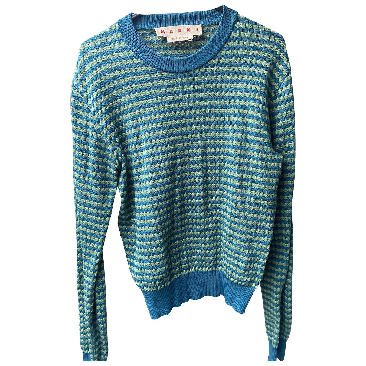 Marni \N Pullover in  Gruen Baumwolle