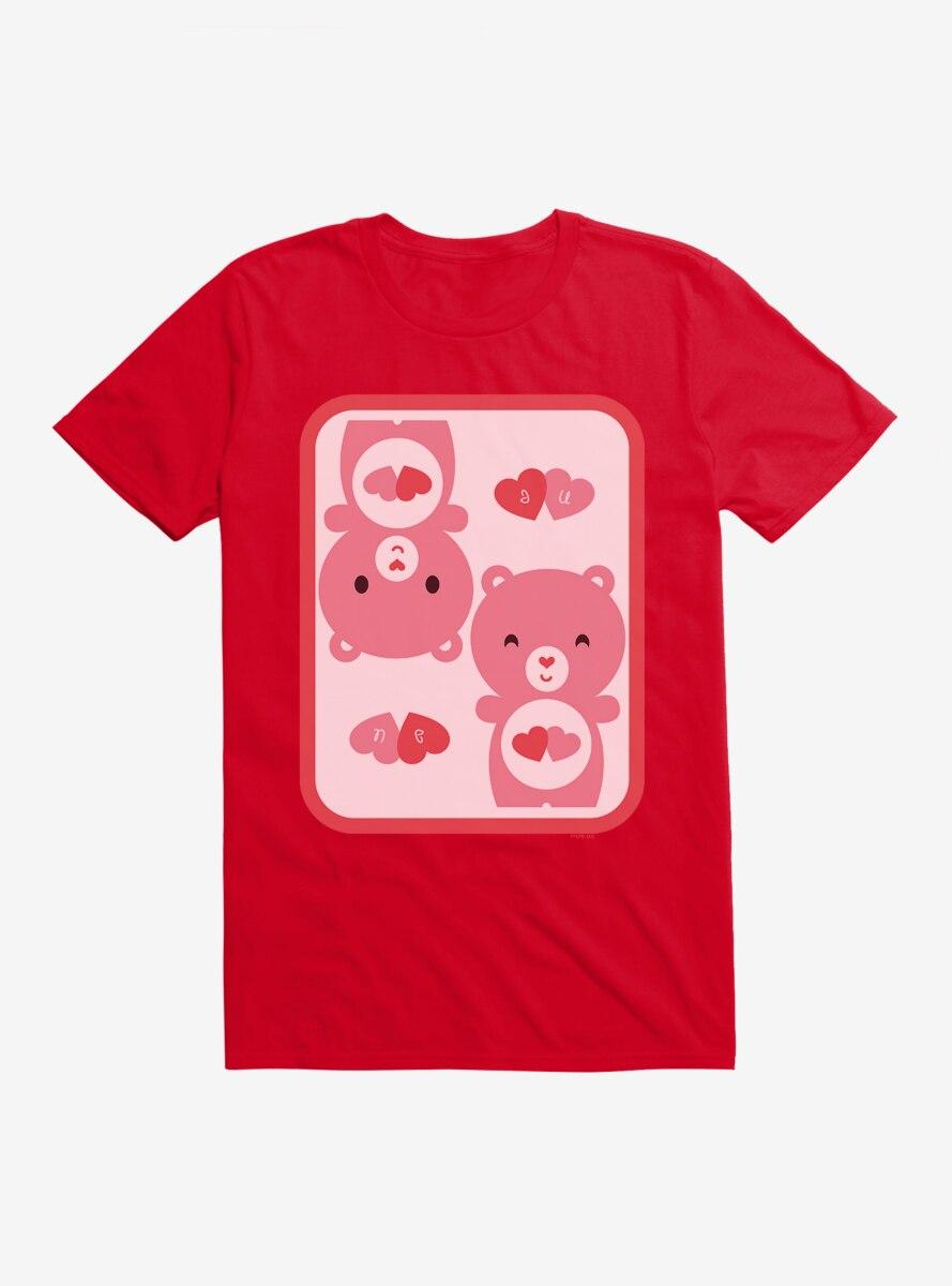 Care Bears Cartoon Love A Lot Icon T-Shirt