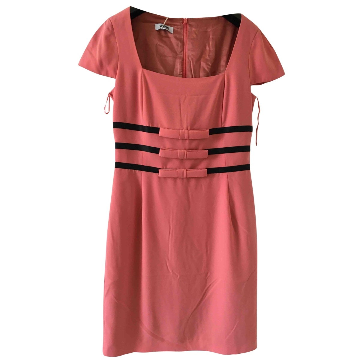 Moschino \N Kleid in  Rosa Polyester