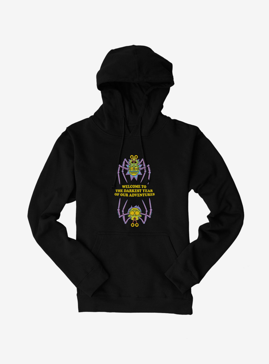 Rick And Morty The Darkest Year Hoodie