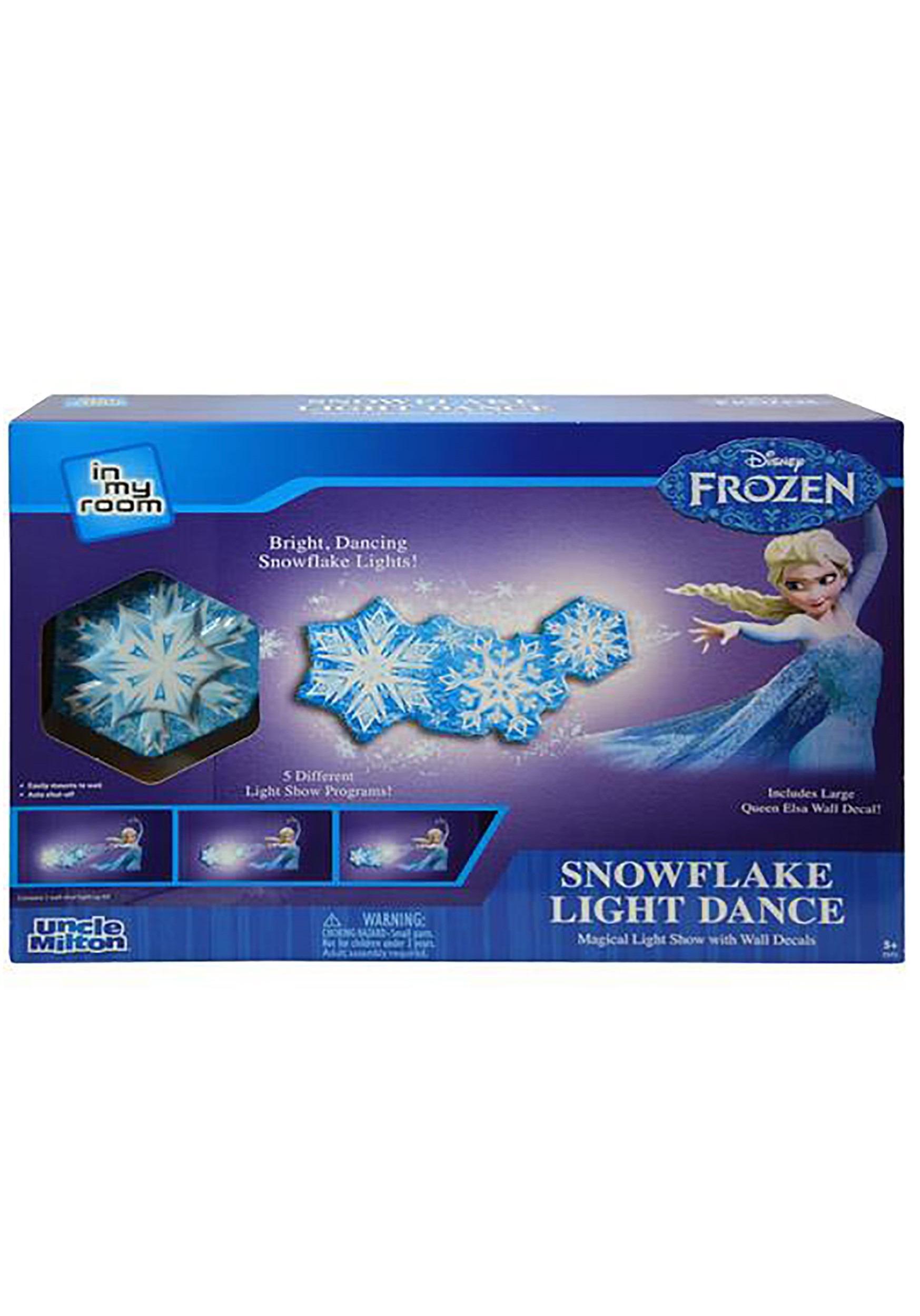 Disney Frozen Snowflake Light Dance Wall Decal