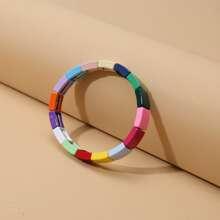 Colorful Geometric Adjustable Bracelet