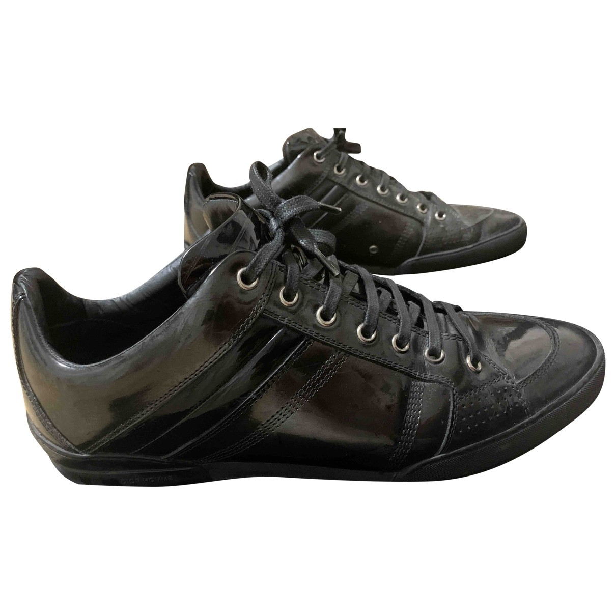 Dior Homme - Baskets B18 pour homme en cuir - noir