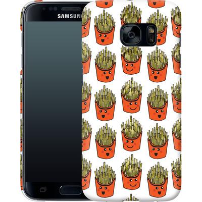 Samsung Galaxy S7 Smartphone Huelle - Happy Fries  von caseable Designs