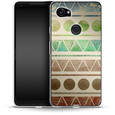 Google Pixel 2 XL Silikon Handyhuelle - Transition von Terry Fan