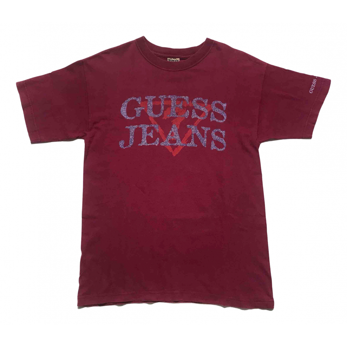 Guess - Tee shirts   pour homme en coton