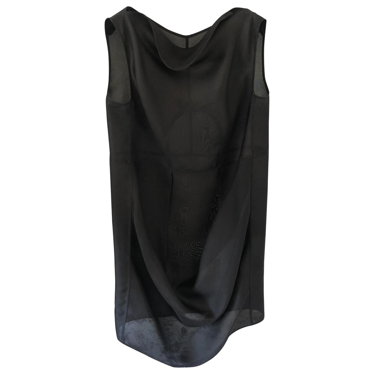 Rick Owens \N Kleid in  Schwarz Seide