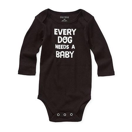 Okie Dokie Baby Unisex Bodysuit, 12 Months , Black