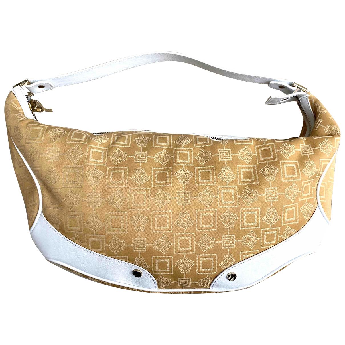 Versace \N Yellow Cloth handbag for Women \N