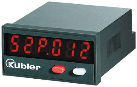 Kubler 6.52P.012.300 , LED Digital Panel Multi-Function Meter
