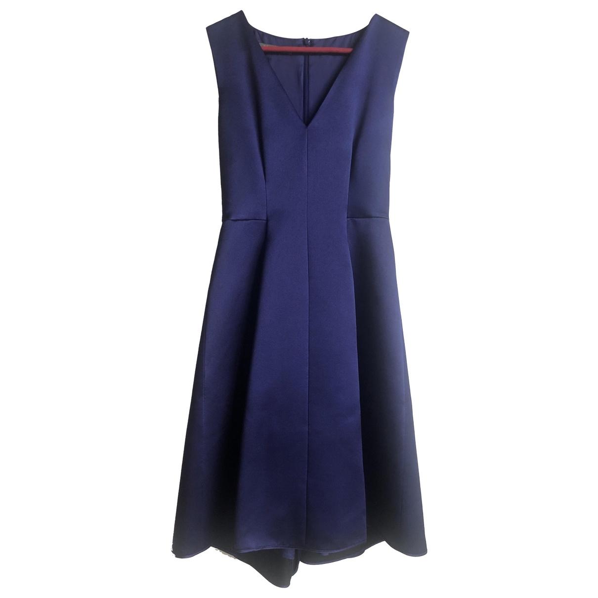 Alberta Ferretti \N Blue Silk dress for Women 34 FR