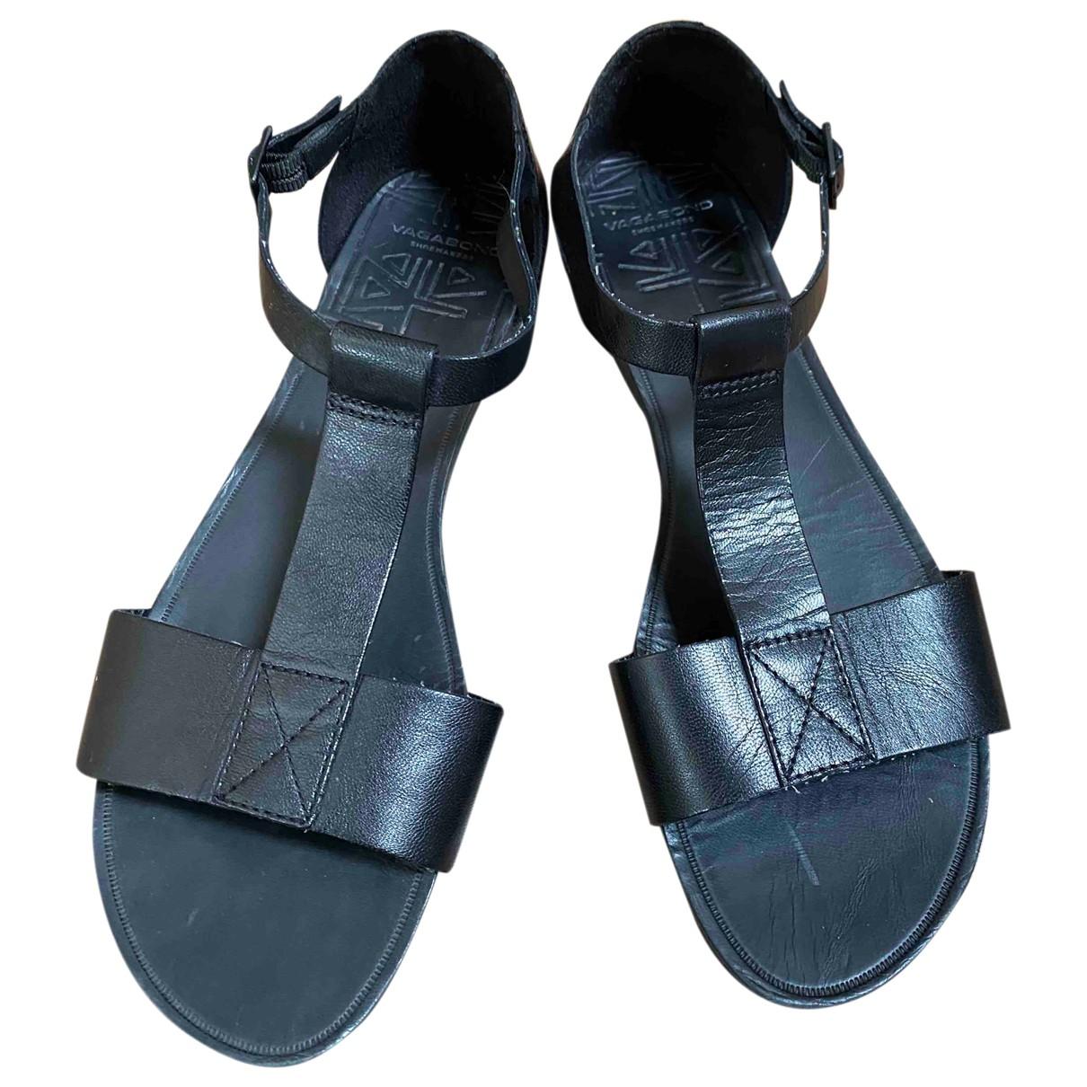 Vagabond \N Sandalen in  Schwarz Leder