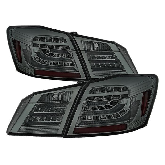 Spyder Auto ALT-YD-HA13LED-LED-SM Smoke Original LED Version Taillights Honda Accord 4Dr 13-16