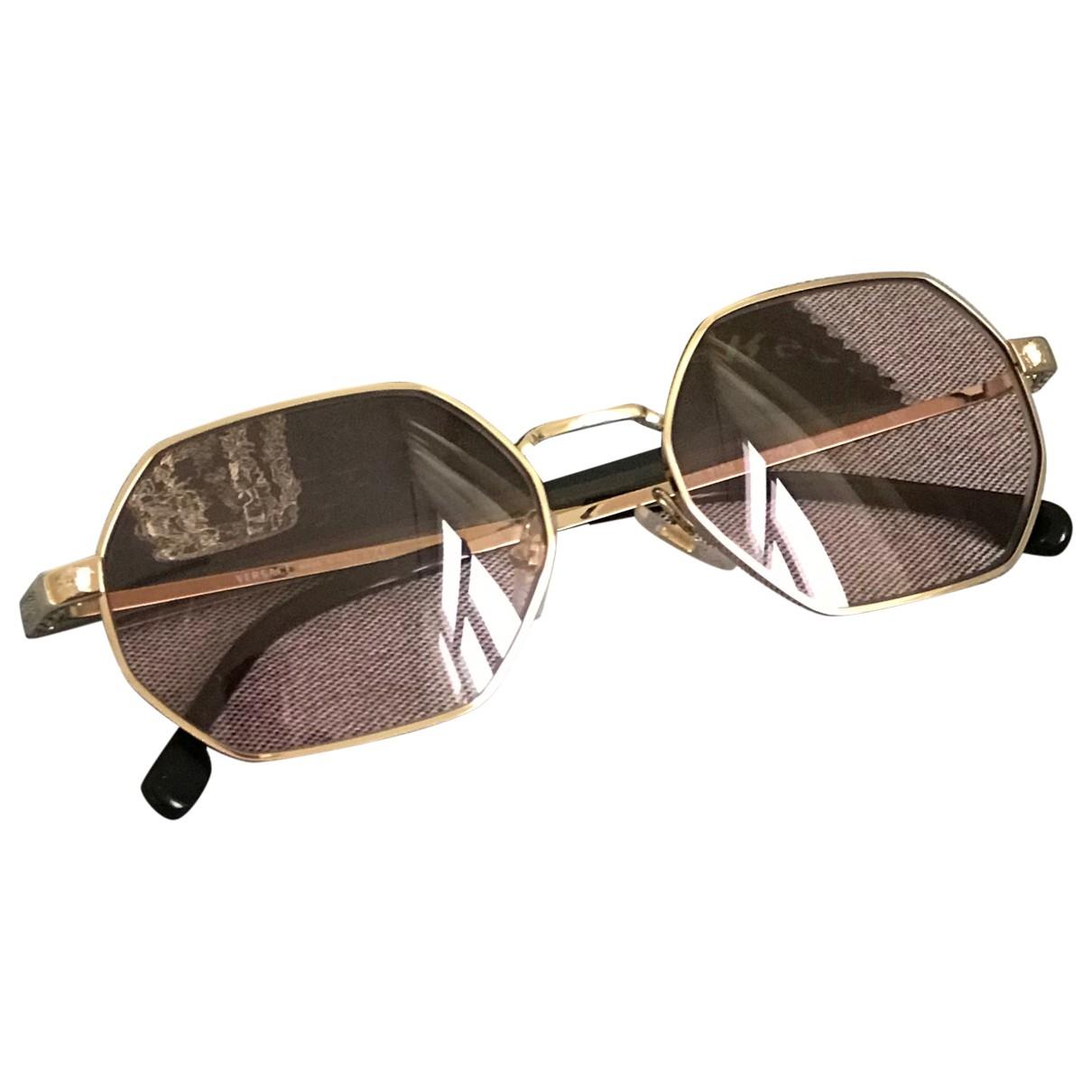 Versace \N Sonnenbrillen in  Rosa Metall