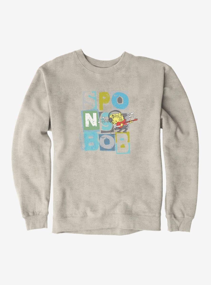 SpongeBob SquarePants Guitar Rocking Out Sweatshirt