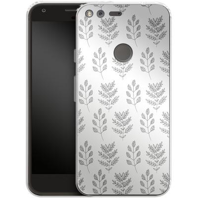 Google Pixel XL Silikon Handyhuelle - Botanic Studies 2 von Lucy Bohr