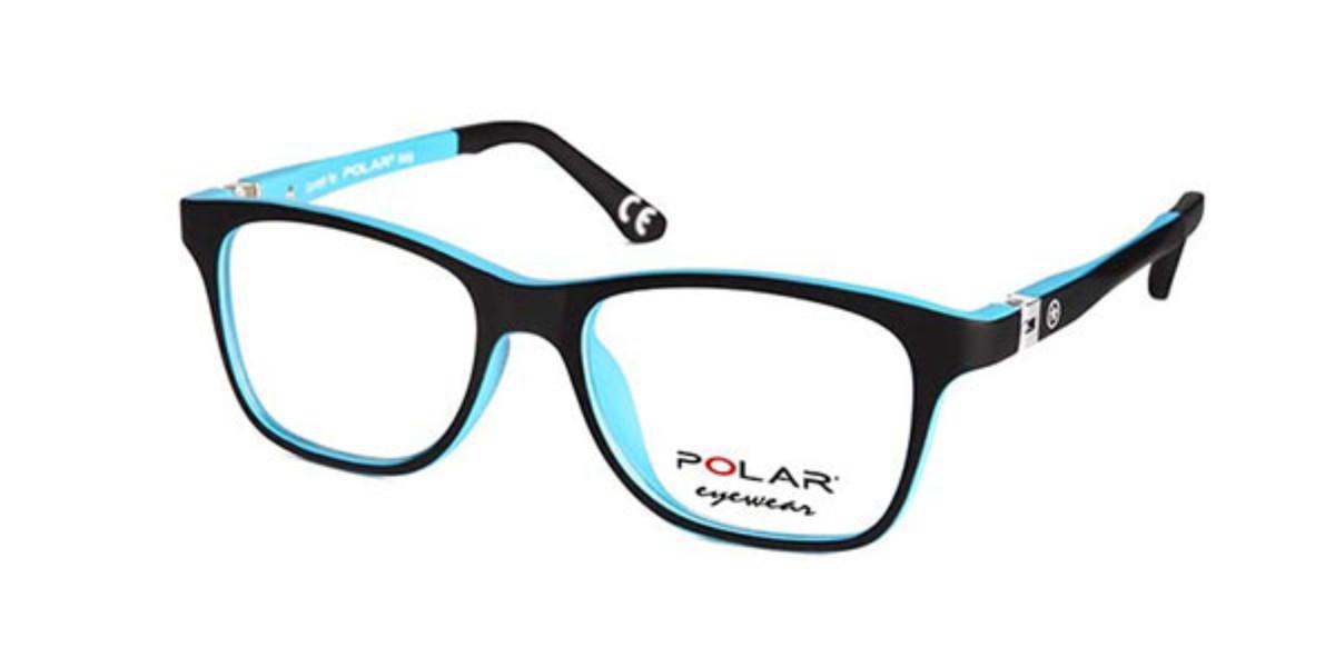 Polar PL 550 Kids 14 Kids' Glasses Black Size 46 - Free Lenses - HSA/FSA Insurance - Blue Light Block Available
