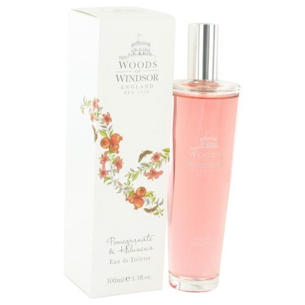 Pomegranate & Hibiscus - Woods Of Windsor Eau de toilette en espray 100 ML
