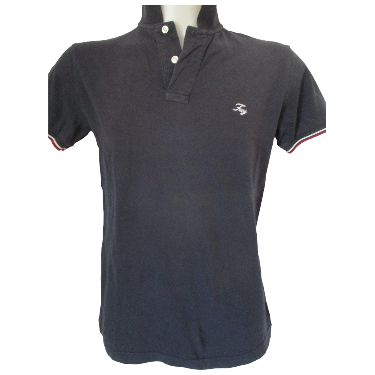 Fay - Tee shirts   pour homme en coton - bleu
