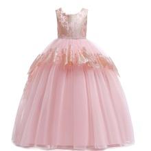 Kleid mit Strass, Band hinten und Schosschen
