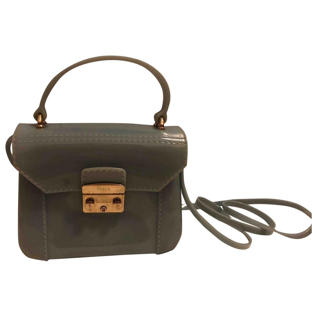 Furla Candy Bag Handtasche in  Tuerkis Kunststoff