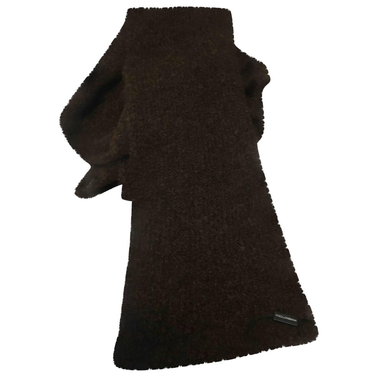 Dolce & Gabbana - Cheches.Echarpes   pour homme en laine - marron