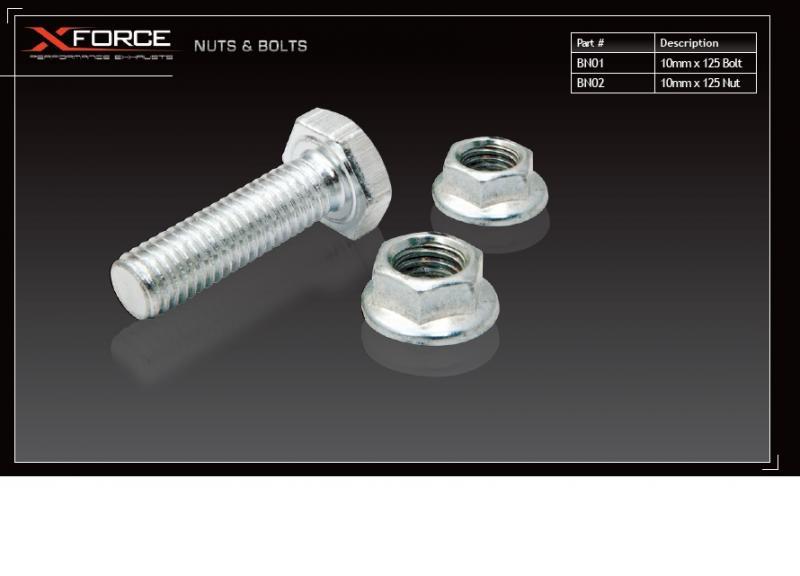 XForce BN02 Nut 10x1.25mm