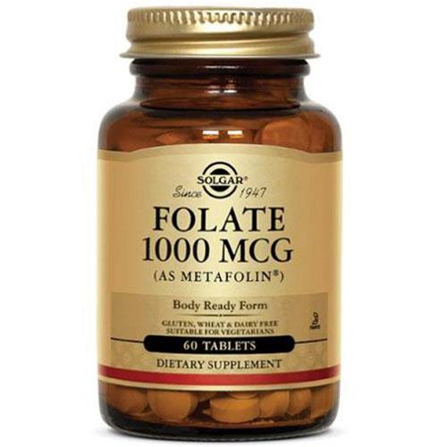 Folate (as Metafolin) 60 Tabs by Solgar