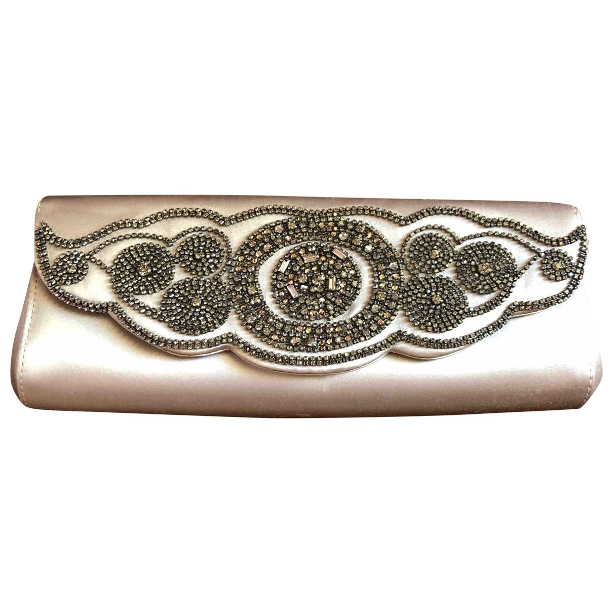 Giorgio Armani \N Grey Cloth Clutch bag for Women \N