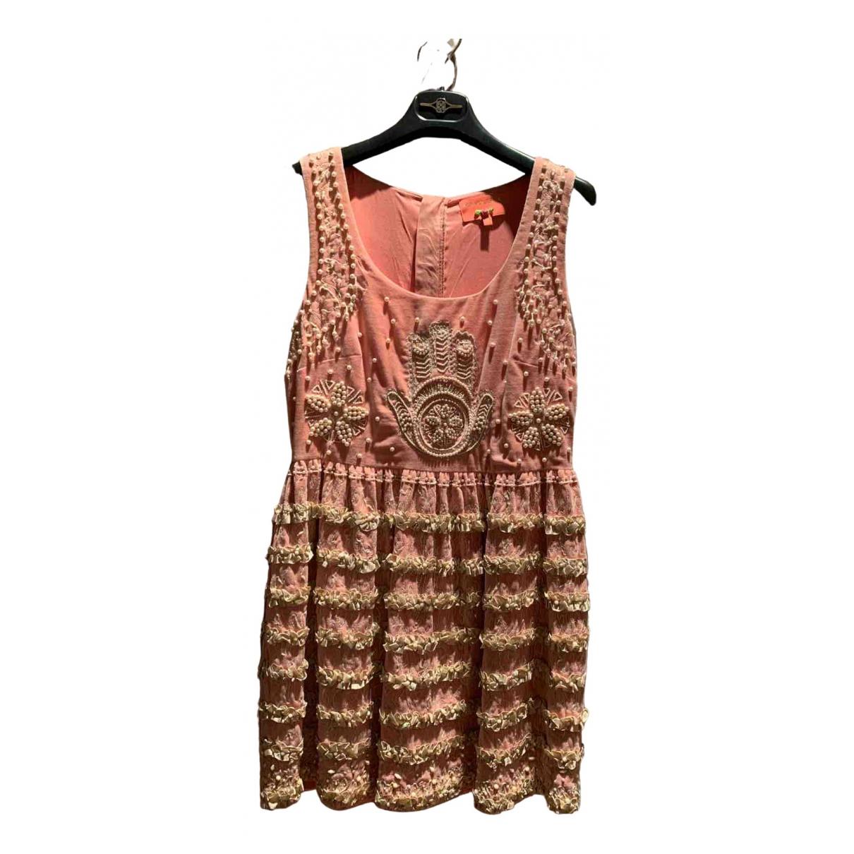Mini vestido de Terciopelo Manoush