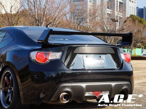 Auto Craft ACT60411412C01 Rear Wing | Rear Spoiler 01 Type C - Carbon Subaru BRZ 13+