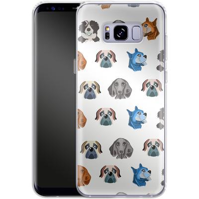 Samsung Galaxy S8 Plus Silikon Handyhuelle - Dog Love von Mukta Lata Barua